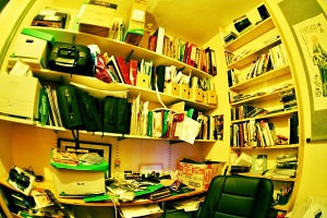 Office clutter image