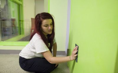 How to (Properly) Clean Your Office's Painted Walls
